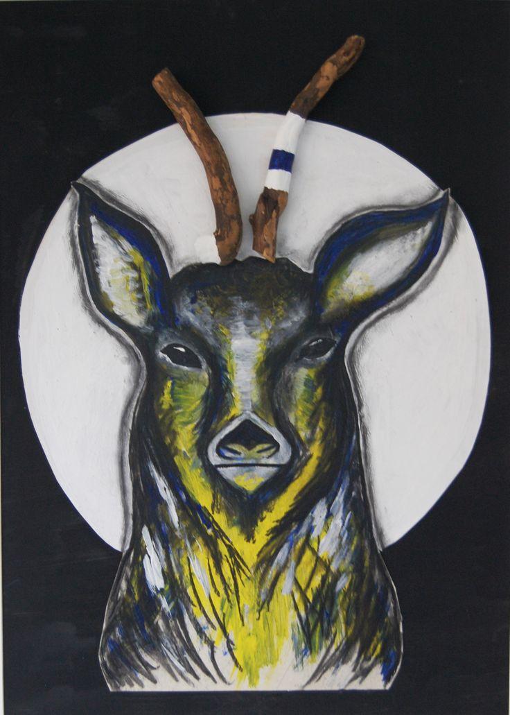 Made by Willemien Mensing Hert/Deer
