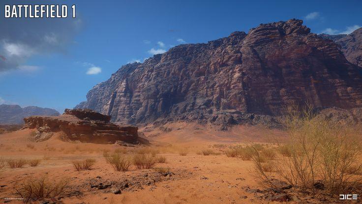 ArtStation - Battlefield 1: Sinai Desert, Joakim Stigsson