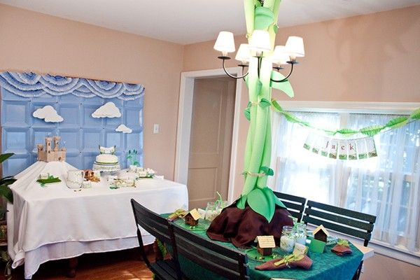 really cute Jack and The Beanstalk party- follow link!