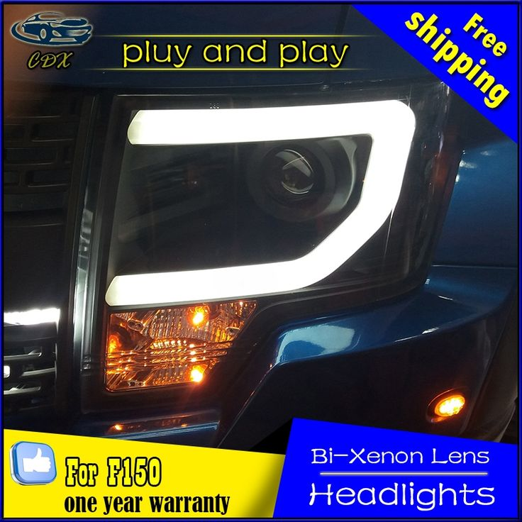 766.10$  Buy here  - CDX car Styling for Ford Raptor LED Headlight F150 Headlights DRL Lens Double Beam H7 HID Xenon head lamp Car Accessories