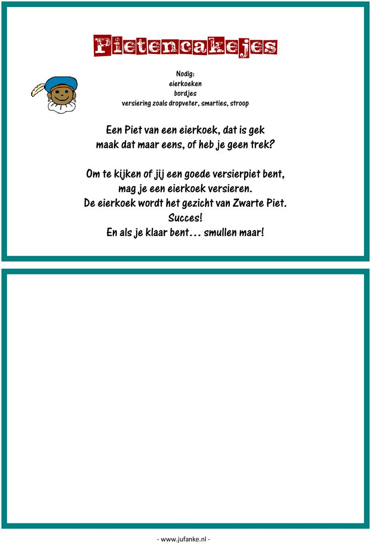 Feest: spelletjesmiddag Sinterklaas 9/9