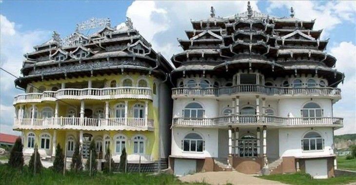 Rich Gypsy Houses In Romania Rich Gypsy Houses In Romania Moldova Pinterest Gypsy
