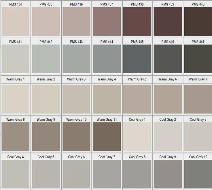 1000 images about pantone on pinterest pantone color for Paleta de colores grises para paredes