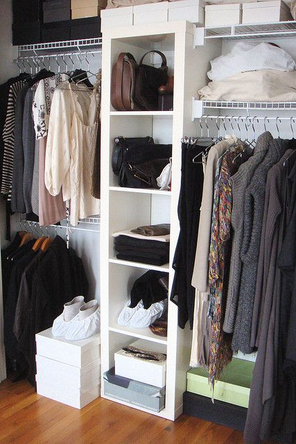 expedit in closet