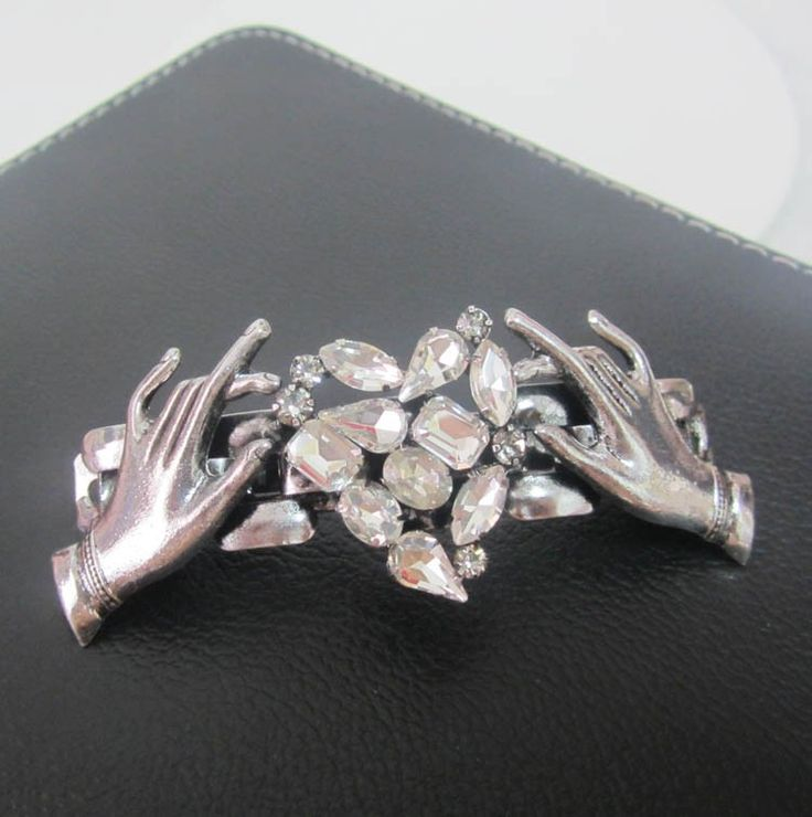 Find More Hair Jewelry Information about Vintage crystal heart hairpins fashion hair jewelry for women antique silver hair clips double hand pins hair accessories C020,High Quality jewelry headband,China jewelry plier Suppliers, Cheap jewelry benefits from The Sunny Day on Aliexpress.com