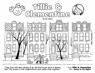 clementine coloring pages - photo#27