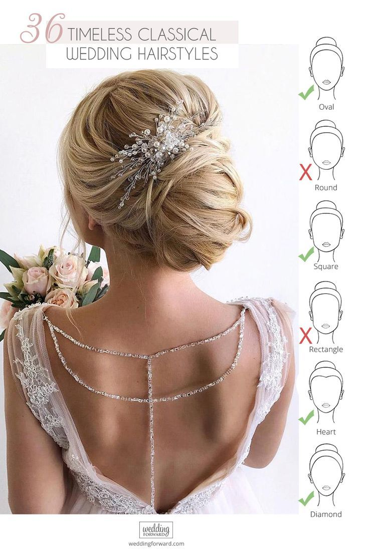 Classic Wedding Hairstyles 30 Timeless Ideas Wedding Forward Classic Wedding Hair Long Hair Styles Hair Accessories Clips