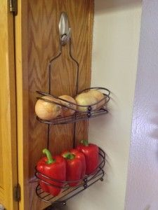 Shower Caddy Produce Rack