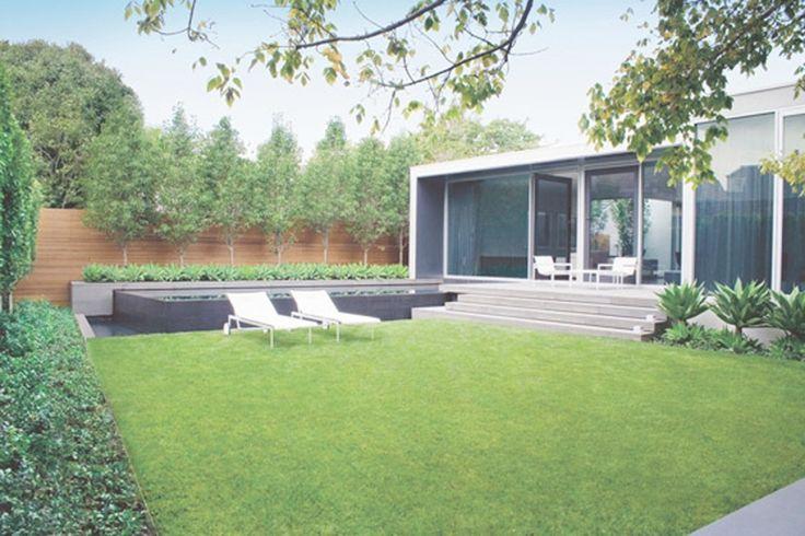 Contemporary Garden Design Decorating Ideas http://zoladecor.com/contemporary-garden-design-decorating-ideas