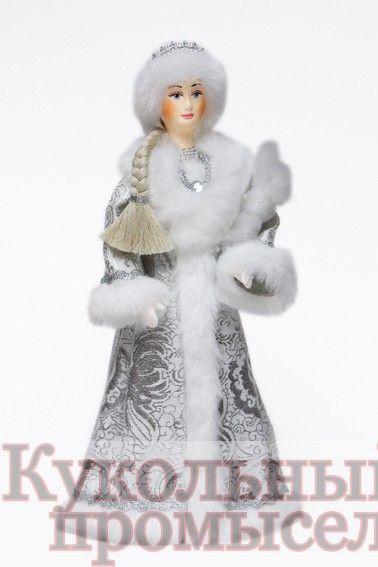 Снегурочка с зайцем 015-015