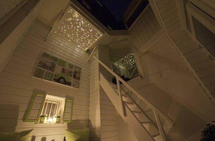 Dakterras sterrenhemel plafond verlichting met glasvezel LED (Van Hemelplafond)