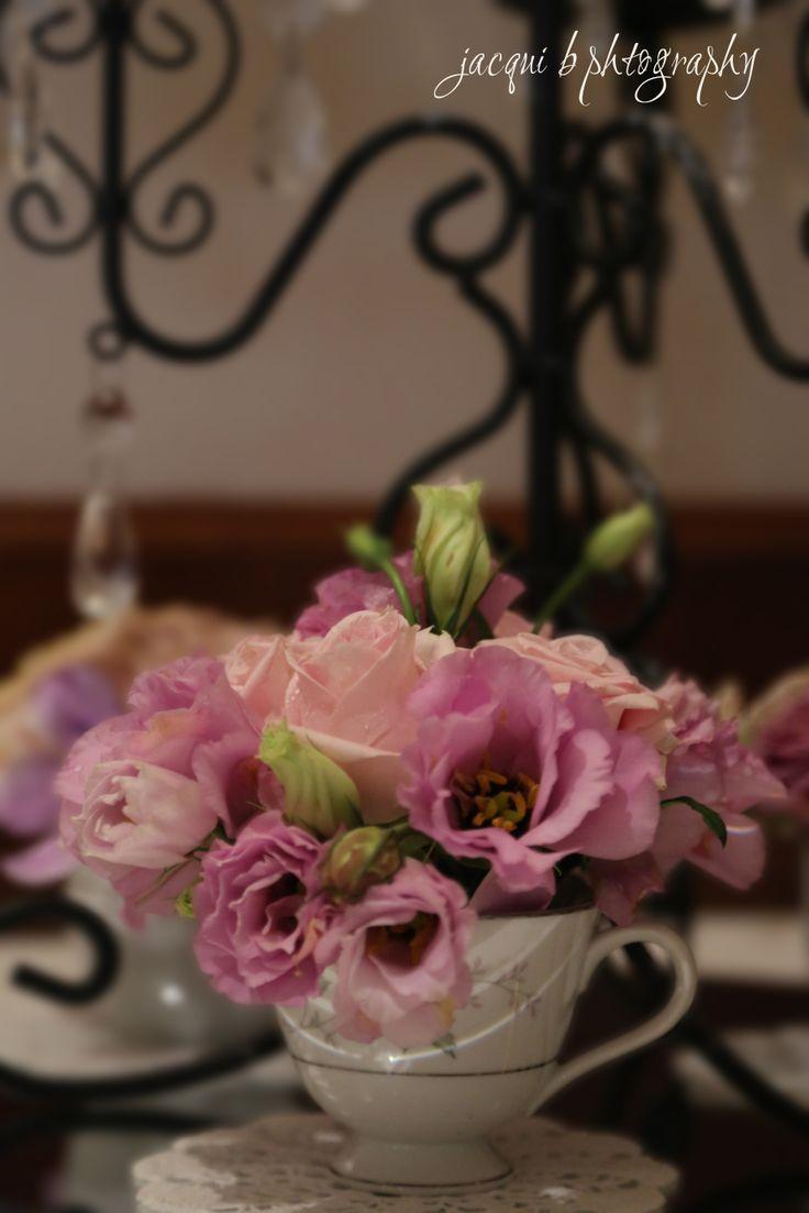 Teacups by Buds n Roses
