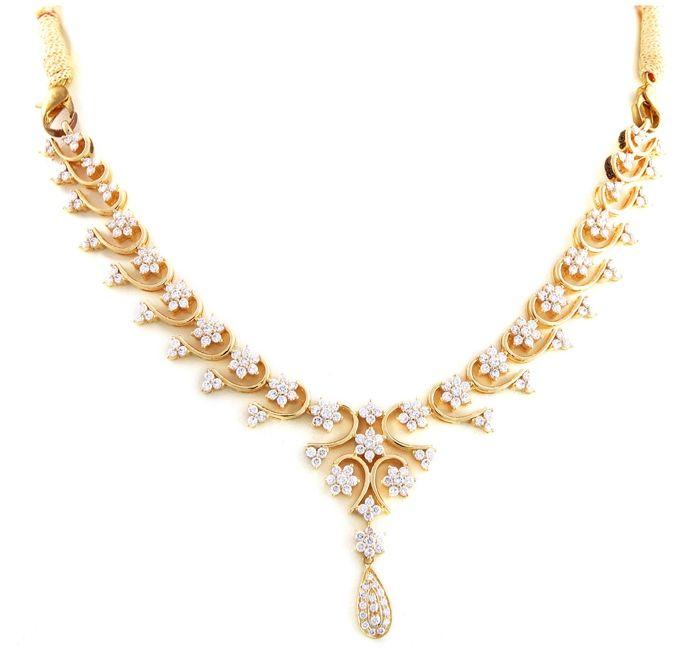 Graceful Wedding Gold Necklace