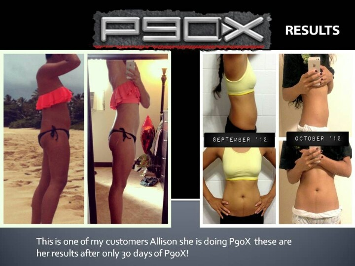 P90X result's after only 30 days!