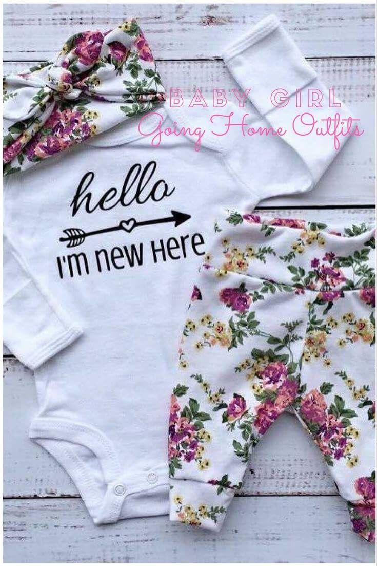 Are you expecting your new arrival soon? Don't leave your baby's Going Home Outfit to the last minute! Handmade Newborn Sets- these are quality, unique 3PC outfits. Affordable- worldwide shipping. Onesies are customizable! These also make one of a kind Baby Shower Gifts!