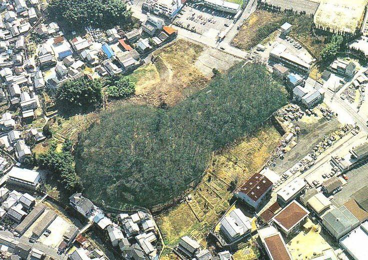 奈良・ 桜井茶臼山古墳 Japanese ancient tomb