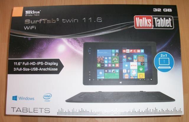 Testbericht: TrekStor SurfTab twin 11.6 WiFi / Volks-Tablet ausprobiert