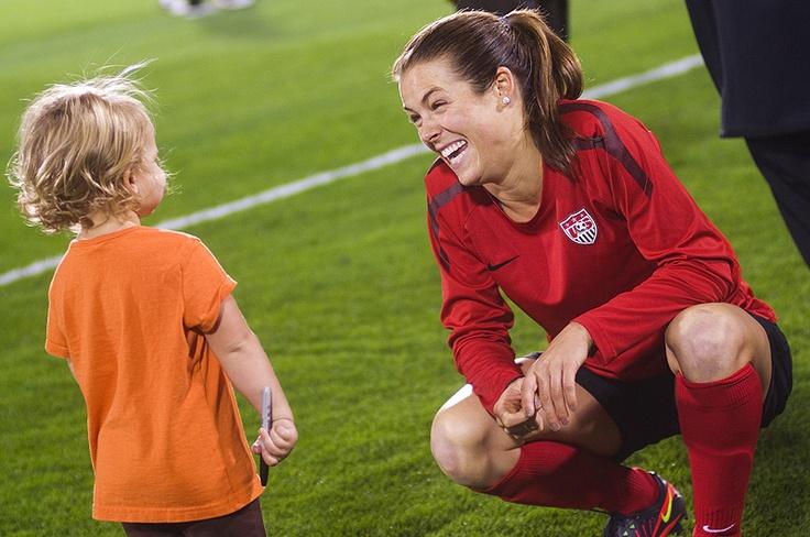 Reece Rampone and Kelley O'Hara | Futbol | Pinterest