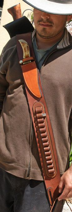 guide gear leather rifle scabbard
