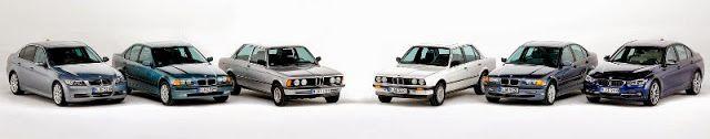 BmotorWeb: História: BMW Série 3 40 anos (+Vídeo)