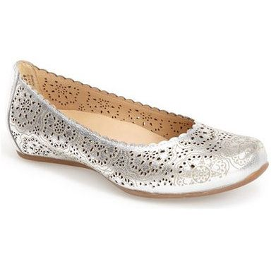 These podiatrist-approved ballet flats provide ample arch support, shock-absorbing soles, and tons of style.| Health.com