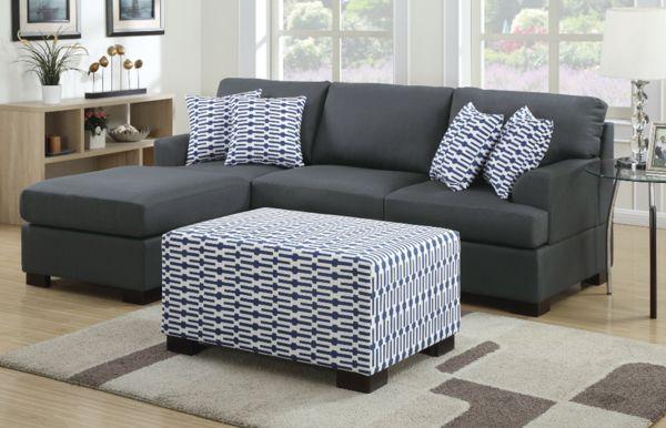 Preston Studio Chaise Sofa Slate - Chaise Sofas