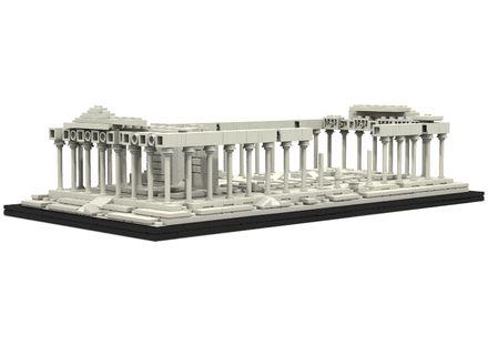 LEGO Ideas - The Parthenon