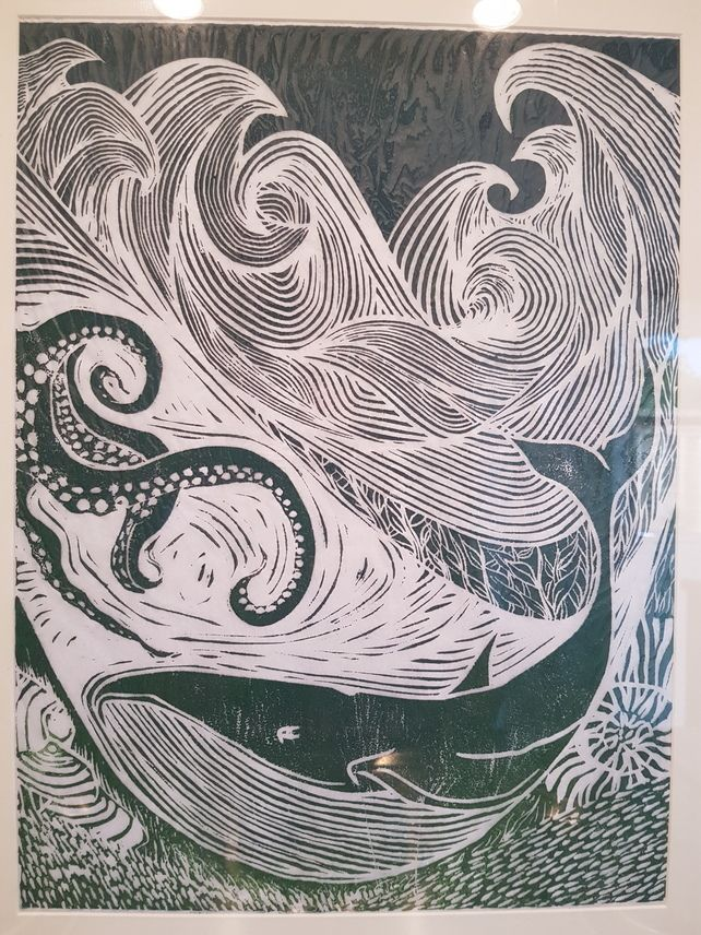 Stormy Seas - Blue £75.00