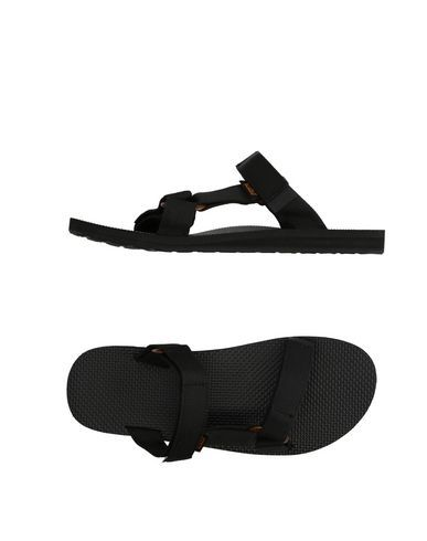 TEVA Men's Sandals Black 12 US