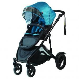 NZ$675 VIDEO_LINK Steelcraft Strider Compact with Foam Filled Wheels Stroller / Pram - fits two seats, two infant capsules, a capsule + a seat OR lay flat bassinet; also allows rear-facing toddler or capsule. adjustable angle handle. TwoFrontWheels http://www.baby.co.nz/product/out-about/strider-compact-with-foam-filled-wheels/15666