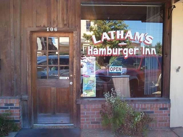 Lathams Hamburger Inn In New Albany Mississippi Burgers Are Made Of Flour Eggs