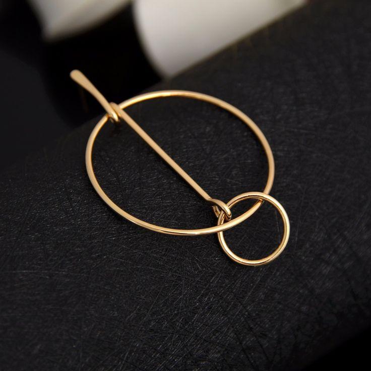 yiustar Fashion Jewelry Earrings Geometric Circle Earrings for Girls E139