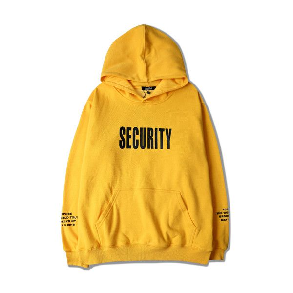 2016 Justin Bieber Purpose Tour Hoodie Sweatshirts SECURITY ($42) ❤ liked on Polyvore featuring tops, hoodies, hoodie shirt, justin bieber, hooded pullover, hoodie top and shirt top