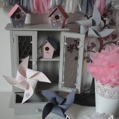 37 best Décoration chambre enfant fille rose poudré gris images on ...