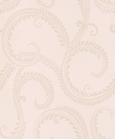 Marchmont Linen (3453155) - Laura Ashley Wallpapers - A classical and intricate grecian leaf design in linen-beige and creamy-gold with shimmering pearlescent inks. Additional colourways also available. Please request a sample for true colour match.