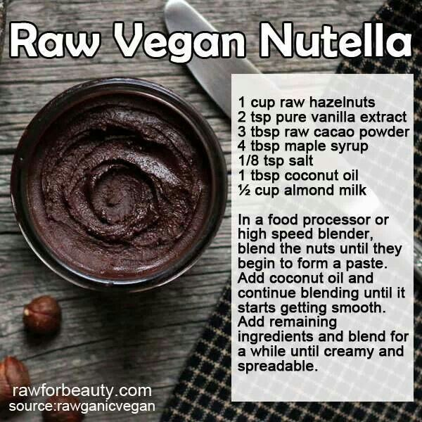 other pinner: Raw Vegan Nutella. Best thing I've ever made. I put this on everything.