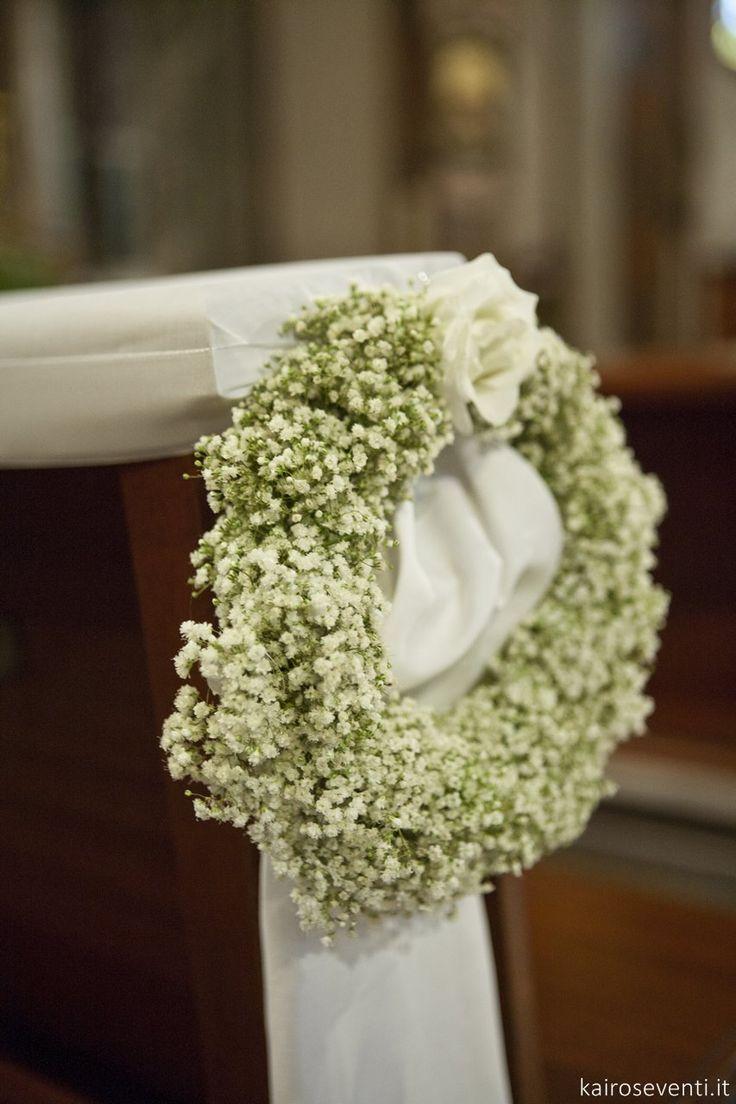 Allestimento floreale in chiesa | Wedding designer & planner Monia Re - www.moniare.com | Organizzazione e pianificazione Kairòs Eventi -www.kairoseventi.it | Foto Oscar Bernelli