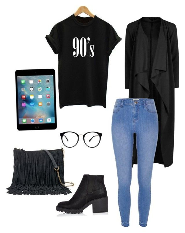 """Outfit inspo"" by aichahh on Polyvore featuring Boohoo, River Island, SONOMA Goods for Life, outfit and personalstyle"