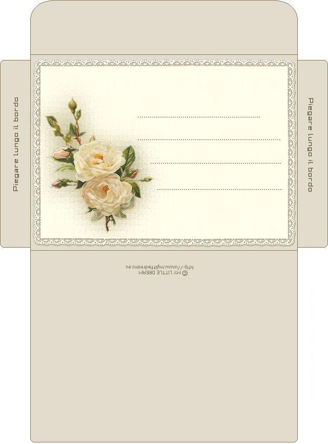 Как расположить конверт на открытке