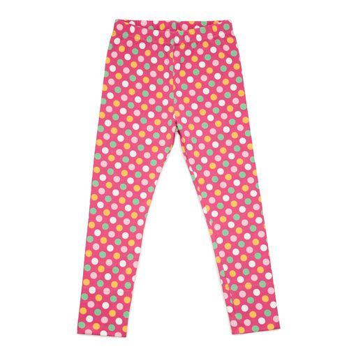NOSH leggings pink pastel polka