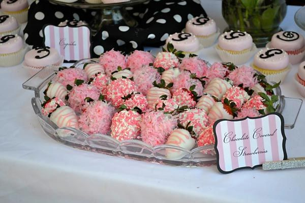 May not necessarily do them this pink, but I'm thinking of dying some of the white chocolate red to do red and white chocolate covered strawberries for a thing one thing two theme or even make them brown for a owl themed shower!!!! Oh im getting overwhelmed with ideas!!!!