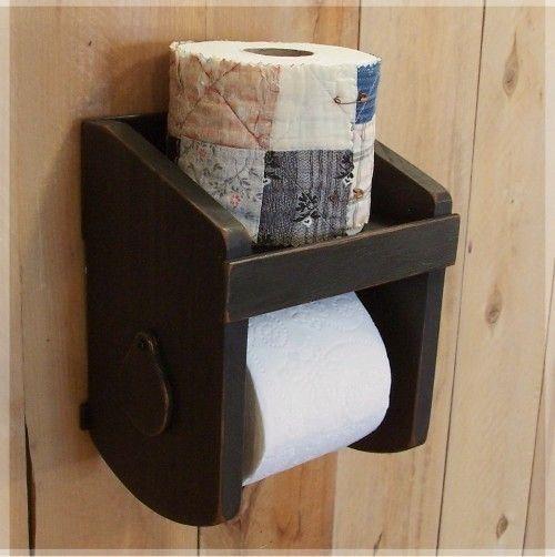 17 best ideas about farmhouse toilet paper holders on for Toilet paper holder ideas