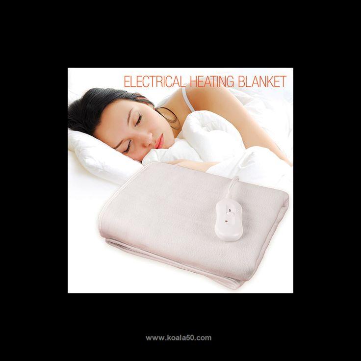 Manta Eléctrica Electrical Heating Blanket 150 x 80 cm - 18,49 €   ComprarManta Eléctrica Electrical Heating Blanket (Calienta Camas)150 x 80cmal mejor precio.Con esta estupendamanta eléctrica calienta camasse acabó el pasar frío en casa y el...  http://www.koala50.com/ideas-para-el-hogar/manta-electrica-electrical-heating-blanket-150-x-80-cm