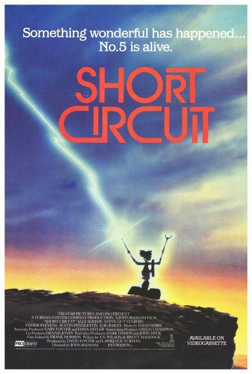Short Circuit 2 27x40 Movie Poster 1988