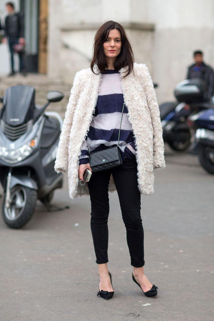 Fashion Street Style, Paris Winter Fashion, Harpers Bazaar, Style Paris, Paris Fashion Weeks, Paris Street Style, Fall Street Style, Hedvig Opshaug, Paris Style