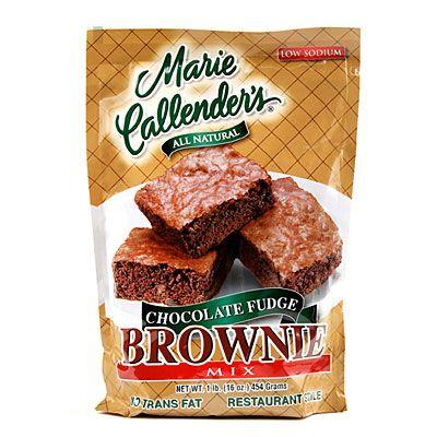 Marie Callender's® All Natural Chocolate Fudge Brownie Mix at Big Lots.