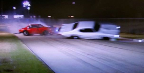 Street Outlaw's Big Chief's Crow is wrecked by Brian Chucky Davis during filming of season 7.