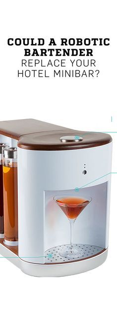 Could a Robotic Bartender Replace Your Hotel Minibar?