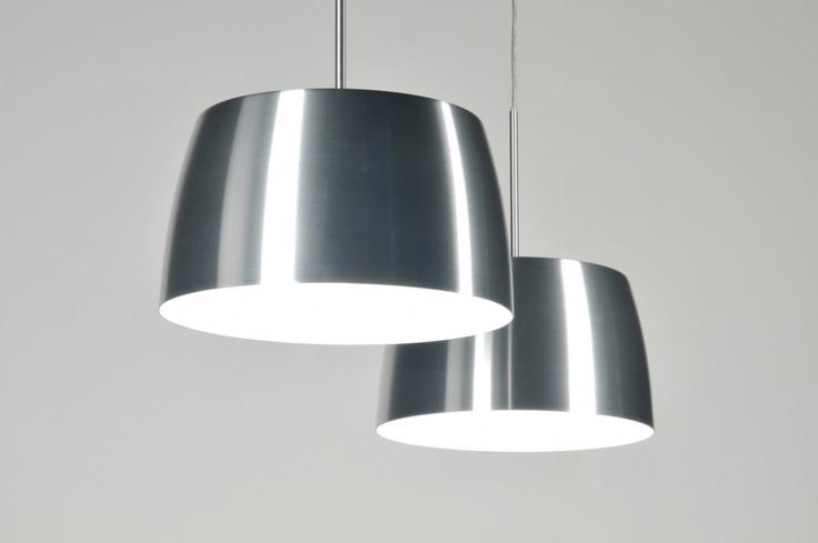 Hanglamp eettafel RVS