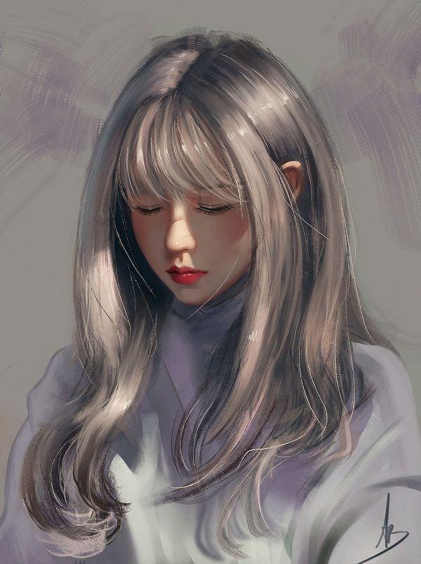 Pin By Shawn Young On New Board In 2020 Digital Art Girl Art Girl Anime Art Girl